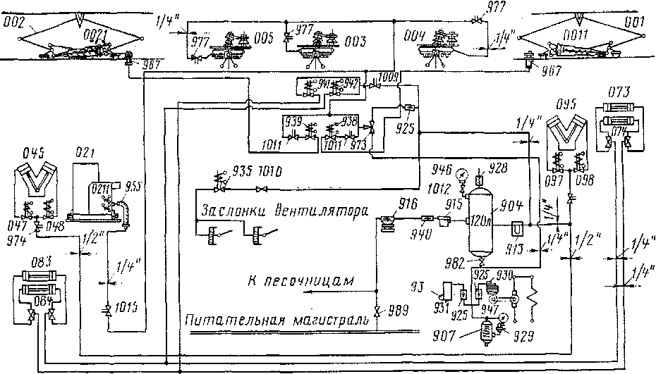трехходовой кран 973,