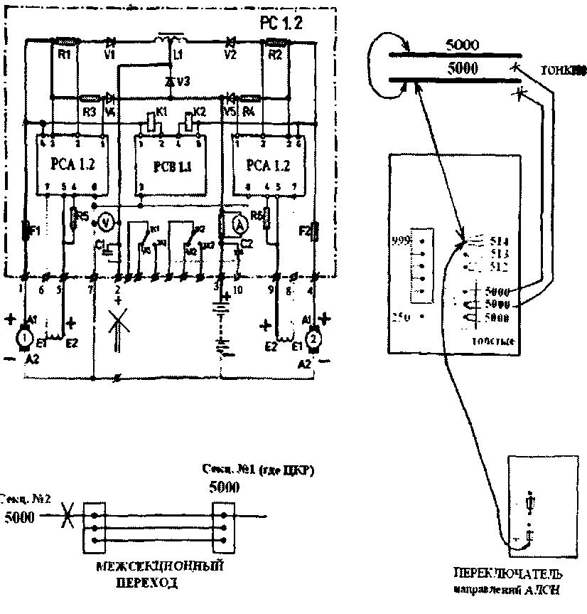 Рис. 127 Вывод со схемы