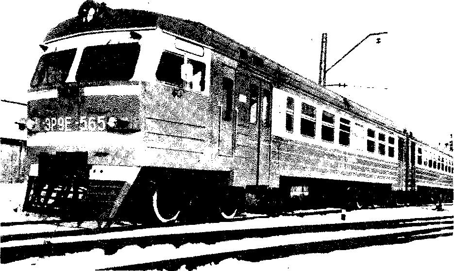 Электропоезд ЭР9Е